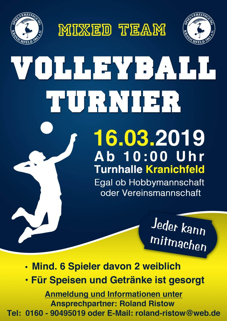 Volleyball Turnier