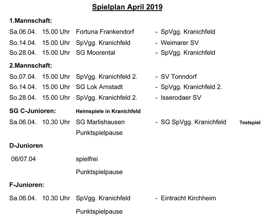 Spielplan April  2019.xlsx